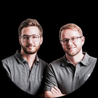 Dr. Leon Diehl und Christian Kleist